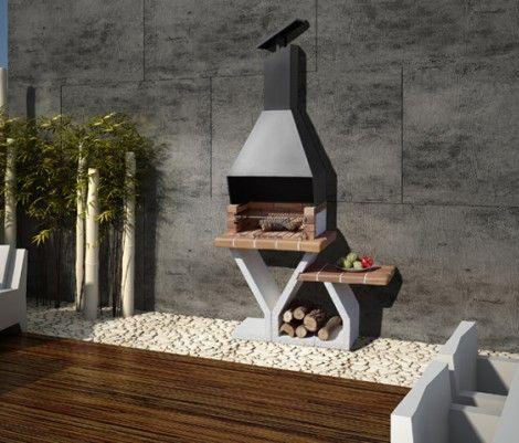 barbacoas jardin selva modelo ideal para espacios reducidos o que soporten poco peso