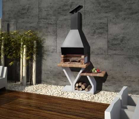 Barbacoas jardin selva modelo ideal para espacios for Jardines para espacios pequenos
