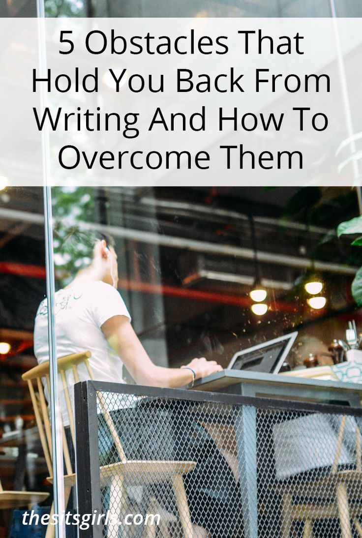 what can help with writers block