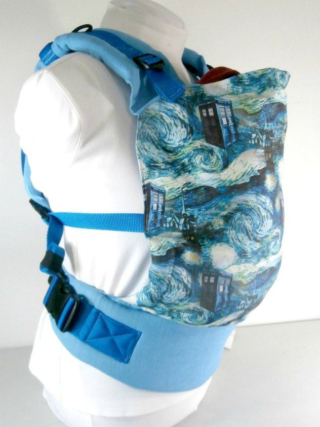 TARDIS, Doctor Who, baby carrier