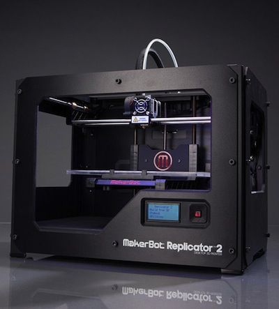 MakerBot: Replicator 2. 3D printer.Join the 3D Printing Conversation: http://www.fuelyourproductdesign.com/