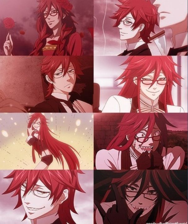 Black Butler Grell Sutcliff Watch in English or Japanese Kuroshitsuji S1 (Black Butler S1) http://animewaffles.tv/Details-Kuroshitsuji-S1-Black-Butler-S1-168 Kuroshitsuji S2 (Black Butler S2) http://animewaffles.tv/anime_detail.php?id=163 Kuroshitsuji: Book of Circus http://animewaffles.tv/Details-Kuroshitsuji-Book-of-Circus-1327