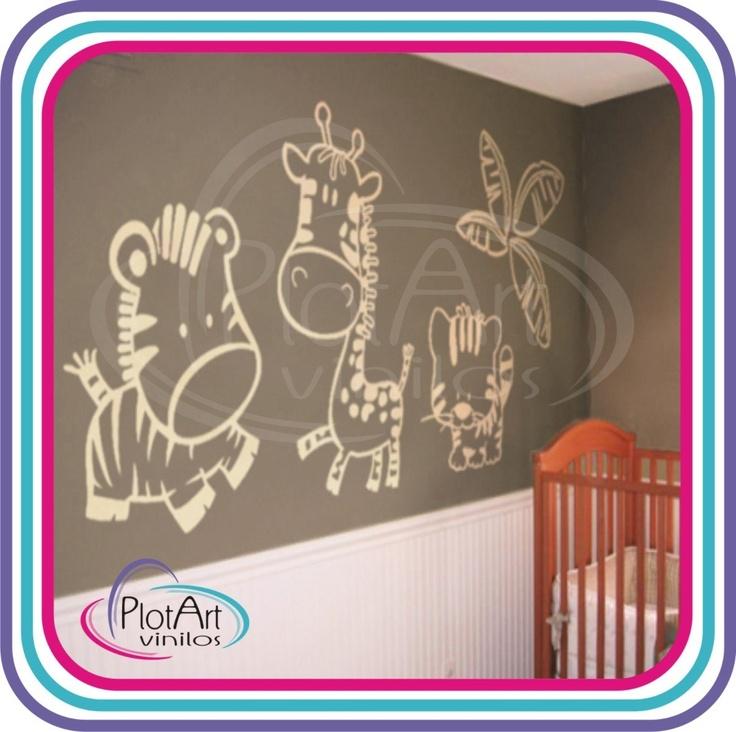 25 best vinilos decorativos arboles infantiles images on for Disenos de vinilos para pared