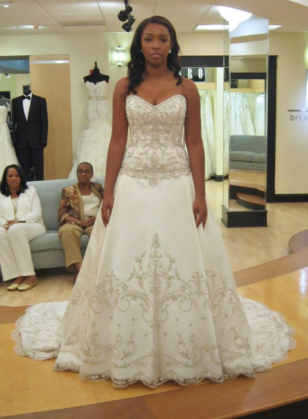 Season 7 featured dresses part 4 daedrea dress info for Wedding dress in atlanta
