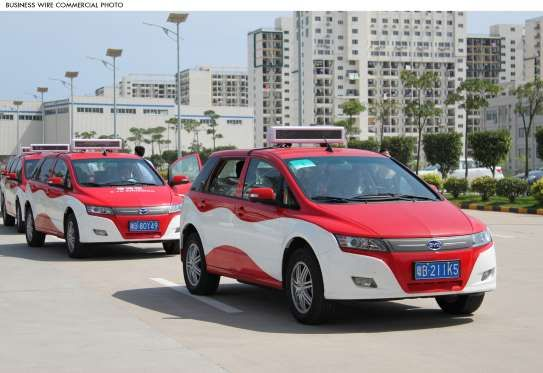 Manufactured by BYD Auto, Electric e6 Taxi service began its operation in Shenzhen, China in 2011. Moreover, as of January 2014, e6 units are running in Colombia and the UK as taxis.