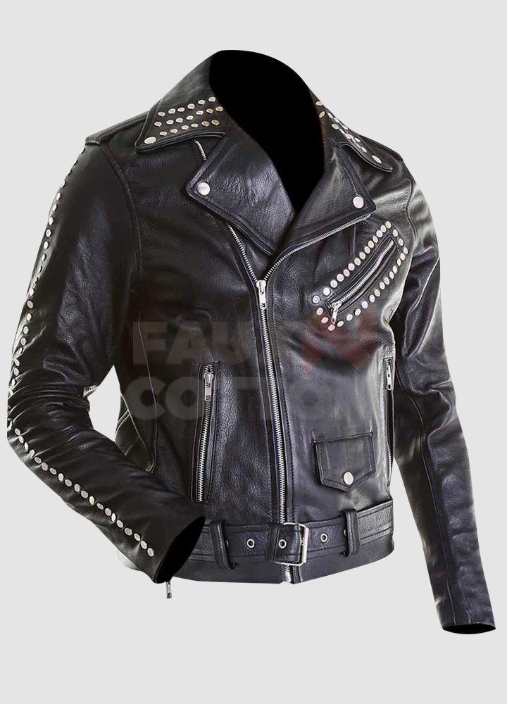 Justin Bieber All Around The World Leather Jacket Leather Jacket Jackets Studded Jacket