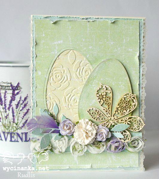 Easter card - shabby