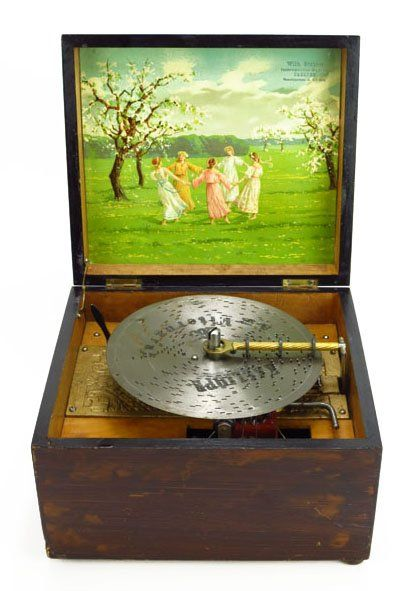 FABULOUS GERMAN VICTORIAN MUSIC BOX : Lot 99. by the Wilh Gabner Co. of Dresden…