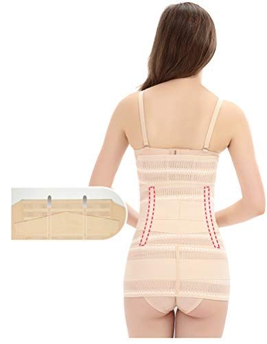b4bc776c8 Waroft 3 in 1 Postpartum Support Belly Wrap C Section Recovery Girdle  Corset Belly Waist Pelvis Belt Shaper