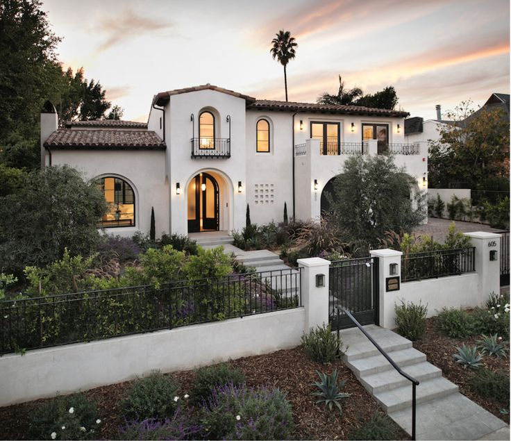 30 best ads concept california spanish modern transitional for Modern spanish style homes