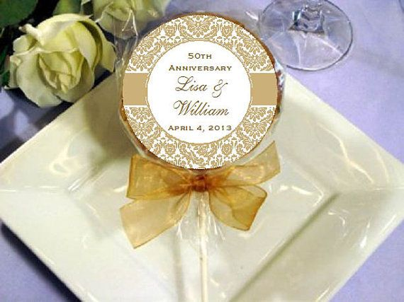 Golden Wedding Anniversary Gifts Ideas: Golden Wedding Anniversary Giveaways