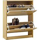 Buy Venetia Shoe Storage Unit - Oak Effect at Argos.co.uk, visit Argos.co.uk to shop online for Shoe storage