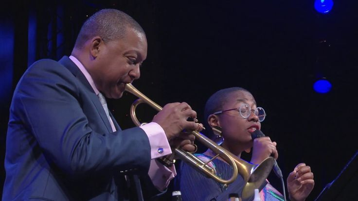 Just a Gigolo - Wynton Marsalis Quintet featuring Cécile McLorin Salvant at Jazz in Marciac 2017 - YouTube