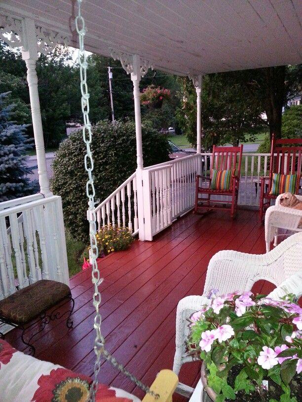 Best 25 Painted Front Porches Ideas On Pinterest