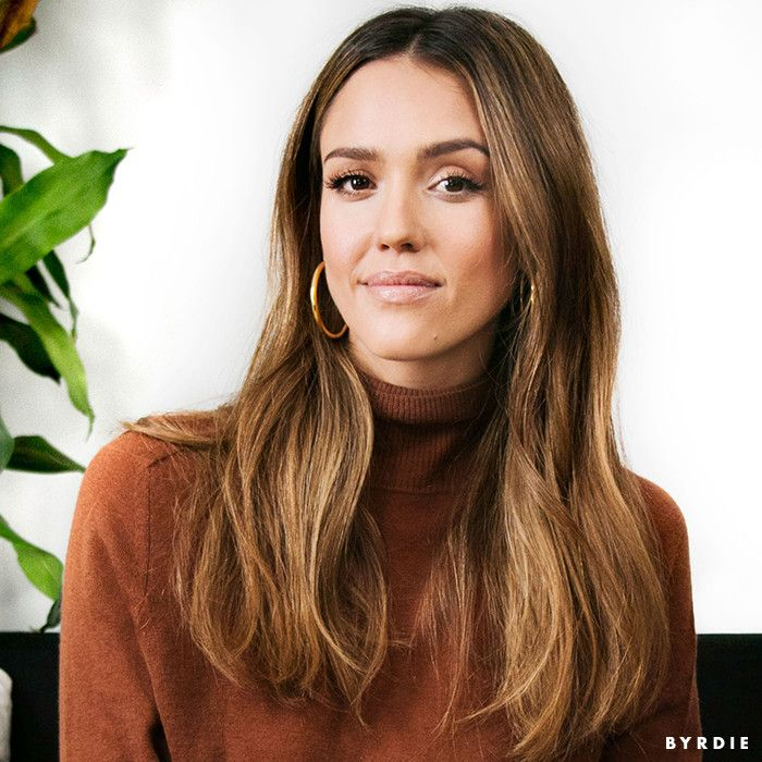Video: Jessica Alba Gets Real About Fitness and Her Hatred of Second-Day Hair via @ByrdieBeauty
