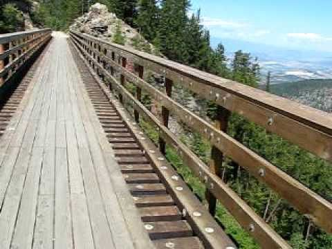 Cycling the Kettle Valley Railway - Myra Canyon - Clip 14