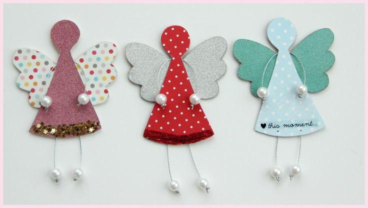 Des petits anges en carton faciles à faire - Le bricolage est vivement recommandé contre la morosité