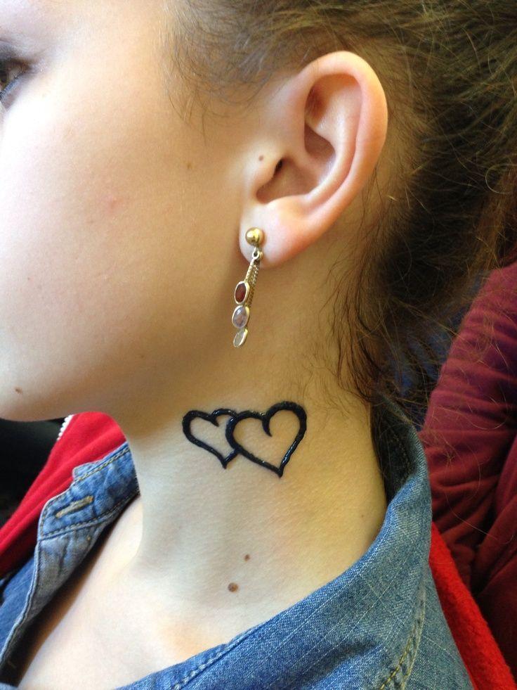 38 best henna neck tattoos images on pinterest henna for Heart henna tattoo