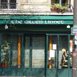 The Green Linnet (Châtelet) Pub irlandais, principalement des bières, tout près de la tour saint jacques