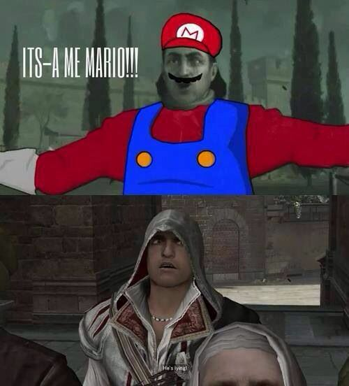 Funny // Assassin's Creed II