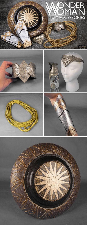 DIY Wonder Woman Costume Accessories