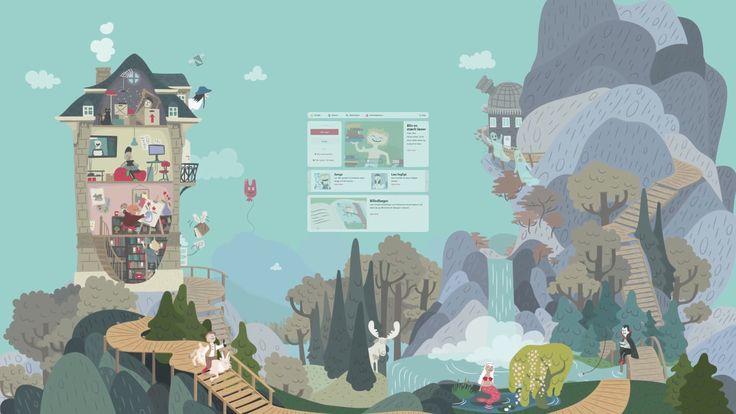 Clio onlines portal til danskfaget 1. - 3. klasse. Portalen er bygget op over de fire kompetenceområder.