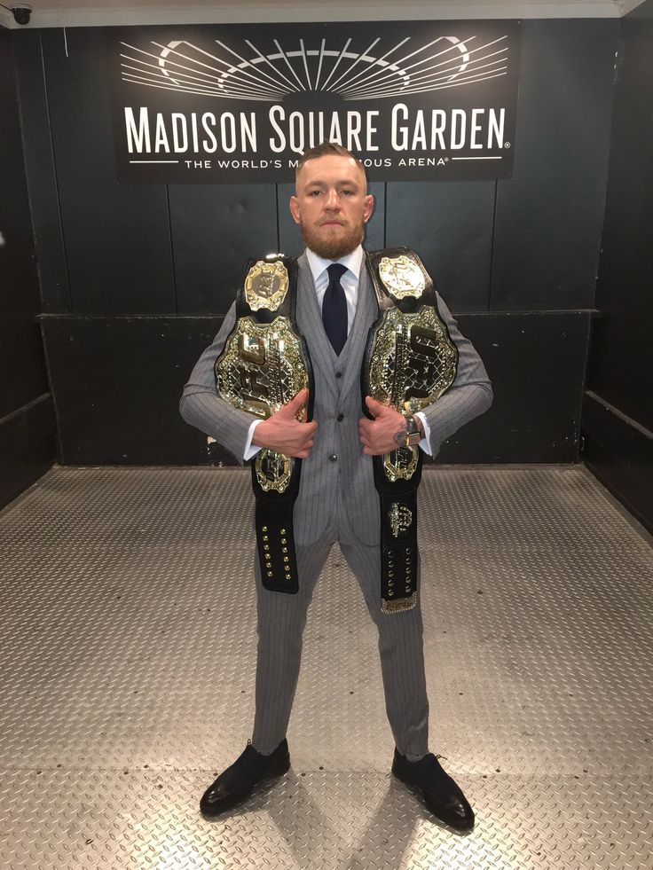 Conor McGregor UFC 2 Weight Division (145lb Featherweight) and (155lb Lightweight) Champ