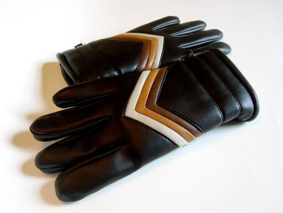 Ski Gloves Vintage Women's Gloves di TonyJaguarVintage su Etsy, $18,00