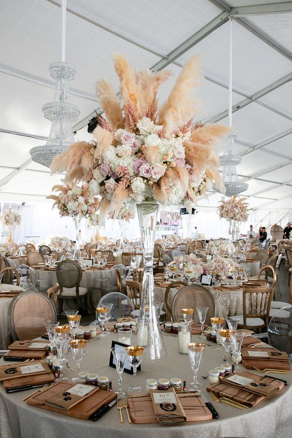 Dekoration Hochzeit Pampasgras Hochzeitstrends 2020 Weddingtrends
