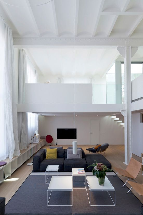 Barcelona Renovation Poblenou Loft Interior Design Planell Hirsch