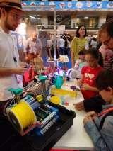 Emmanuel Gilloz de FoldaRap - Maker Faire (Rome)