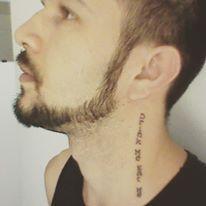Maddox Cleber tatoo Drink Me/Eat Me - Inspired - Alice in Wonderland