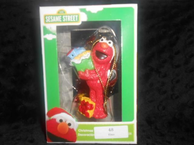 NEW Kurt Adler Sesame Street ELMO Christmas Ornament NIB