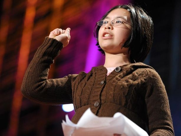 """""""Child prodigy Adora Svitak says the world needs """"childish"""" thinking: bold ideas, wild creativity and especially optimism. Kids' big dreams deserve high expectations, she says, starting with grownups' willingness to learn from children as much as to teach."""""""