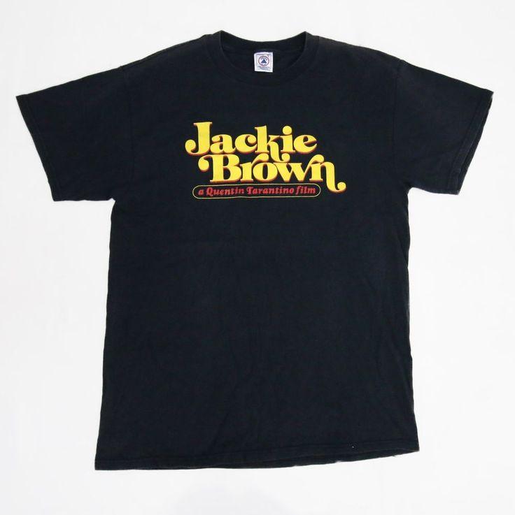 Vintage 1999 Jackie Brown Quentin Tarantino Cult Classic Movie T-Shirt for sale!!!    http://www.ebay.com/itm/-/152596623761?    #vintage #90s #JackieBrown #QuentinTarantino #Blaxploitation #CultMovie #Cullt #Classic #Movie #Crime #Thriller #Tee #Shirt #Rare #Large #Black #SamuelLJackson #PamGrier #PulpFiction #KillBill