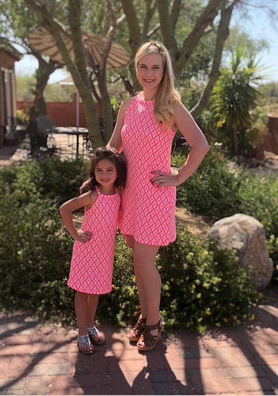 fd0717f5c90 Mommy and Me Dress - Mother and Daughter Matching Dress - Mommy and Me  Dresses- Matching Summer Dresses