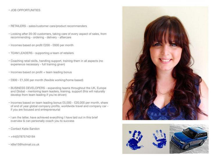 Recruiting Now www.kateforever-aloe.myforever.biz/opportunity