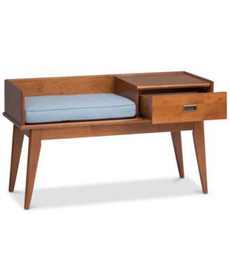 Ednie Storage Bench, Quick Ship - Brown