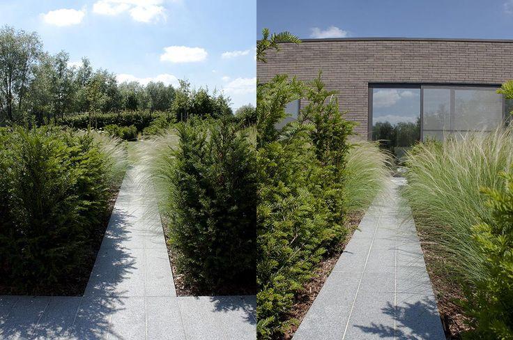 25 beste idee n over modern tuinontwerp op pinterest for Tuinarchitect modern strak