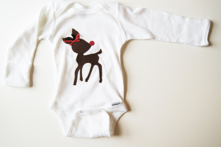 First Christmas Baby Girl Outfit