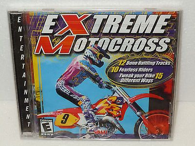 Extreme Motocross Dirtbike Racing PC Computer Video Game Dawn Jewel Case 1998 BN