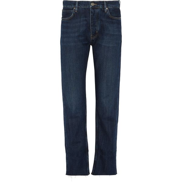 M.i.h Jeans Phoebe boyfriend jeans (18.370 RUB) ❤ liked on Polyvore featuring jeans, dark denim, boyfriend fit jeans, blue jeans, blue boyfriend jeans, low rise jeans and boyfriend jeans