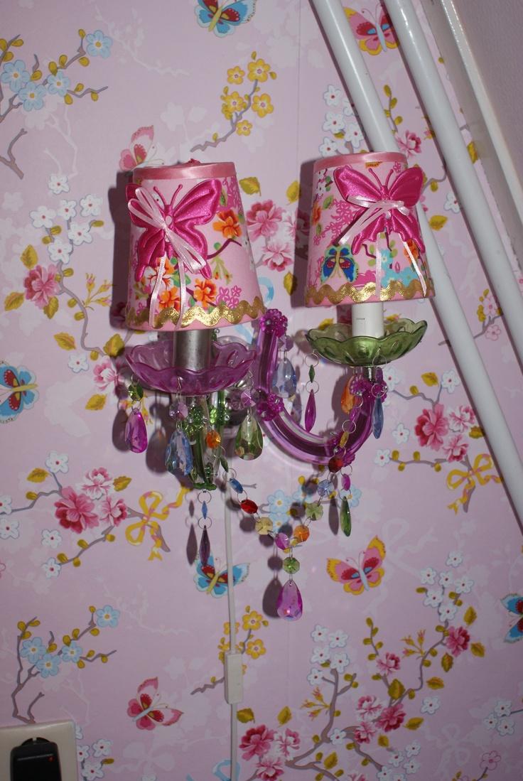 zelfgemaakte lampenkapjes