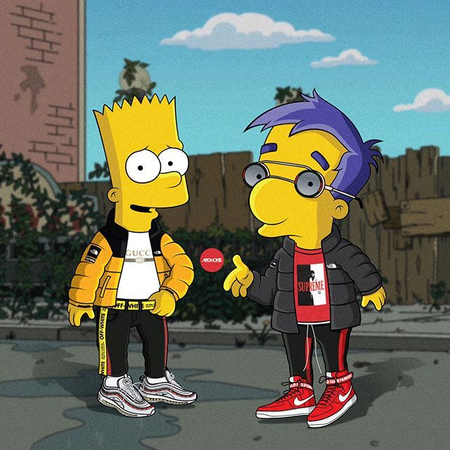 Adc Rock On Simpson Wallpaper Iphone Hypebeast T