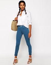 Сине-зеленые джинсы PaulbyPaulSmith