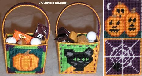 Treat Bags - Plastic Canvas (Plastic Canvas)