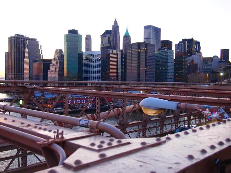 Manhattan. Pont de Brooklyn