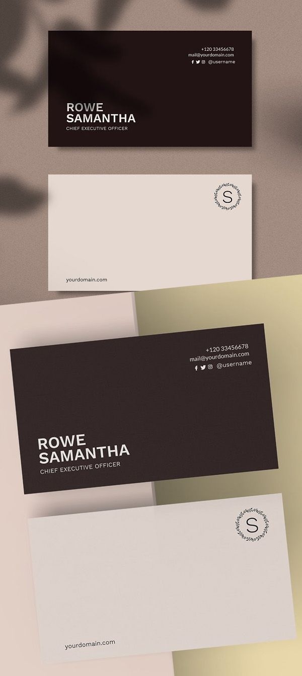 New Professional Business Cards 25 Print Ready Templates