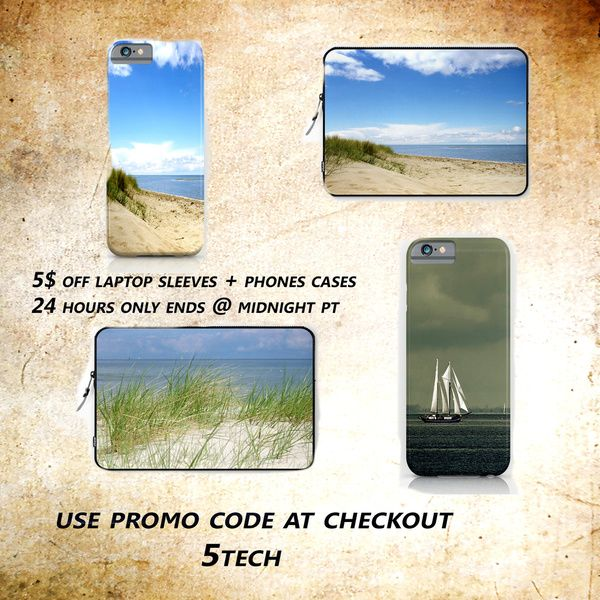 Tuesday, August 25: $5 Off Laptop Sleeves + Phone Cases!!!!