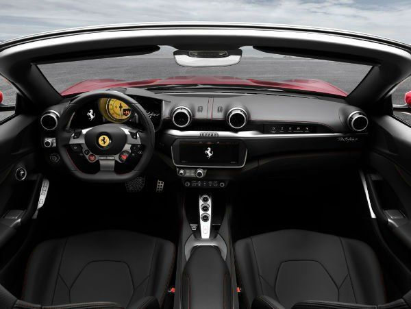 Ferrari Portofino 2019 Interior In 2020 Ferrari La Ferrari Car